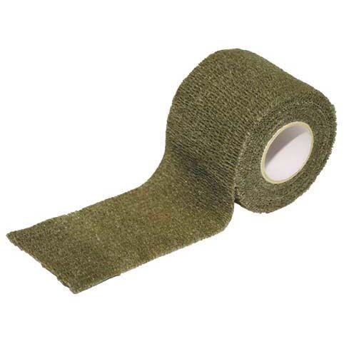 MFH Samosťahovacia maskovací páska, olivová
